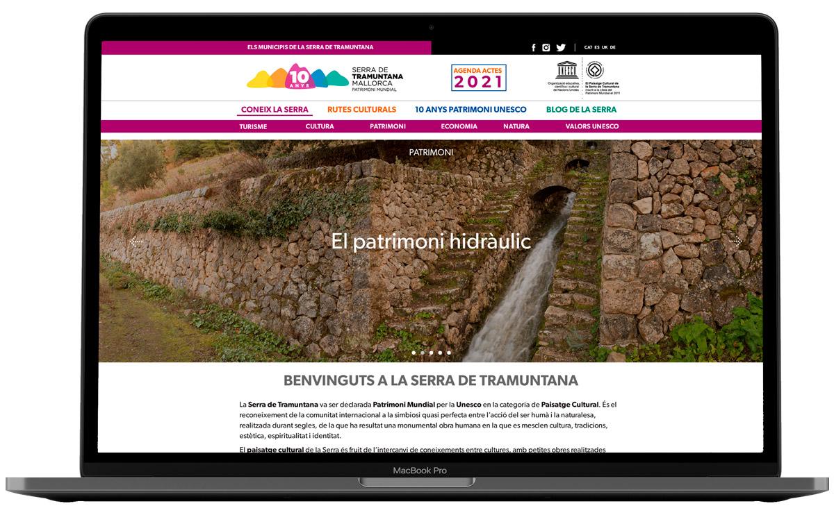 Web Serra de Tramontana